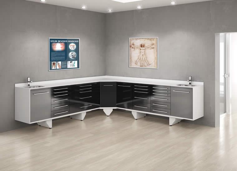 ... mobili per studi dentistici, mobili per dentisti o laboratori