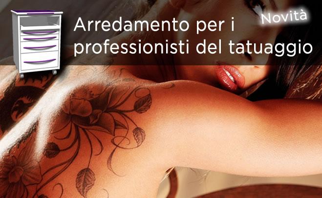 Mobili per tatuaggisti