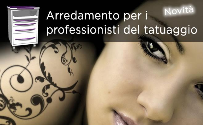 Arredamento per professionisti del tatuaggio